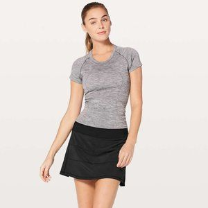 "lululemon Pace Rival Skirt *4-way Stretch 15"" Black Size 10 Tall"